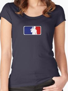 Major League Redneck Women's Fitted Scoop T-Shirt