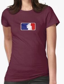 Major League Redneck Womens Fitted T-Shirt