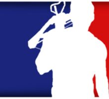 Major League Redneck Sticker
