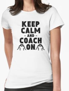 Keep Calm And Coach On Wrestling T-Shirt