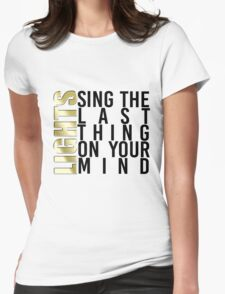 LIGHTS - The Last Thing On Your Mind T-Shirt