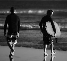 Morning Surf by Damien Scrivano