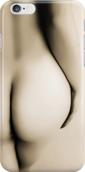 NAKED CURVES - Iphone Case by Rob  Toombs