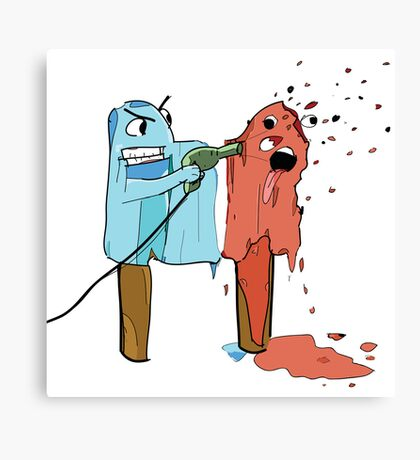 Illustration Lolipop Canvas Print