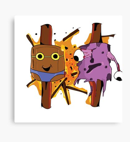 Illustration Marshmellow's Canvas Print