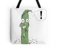 Illustration paranoid weed Tote Bag