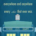 TARDIS Doctor Who Quote by greatskybear