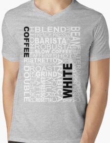 White coffee...WORD!! Mens V-Neck T-Shirt