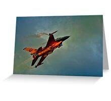 F-16 Climb Greeting Card
