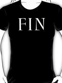 FIN (The End) T-Shirt