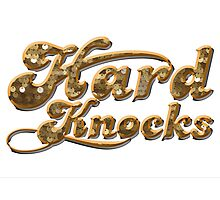 hard knocks Photographic Print