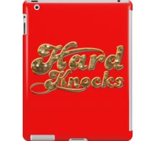 hard knocks iPad Case/Skin