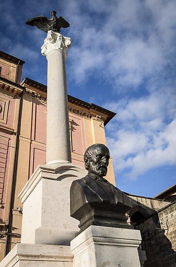 Monumento a Mazzini, Tarquinia by Marco Borzacconi