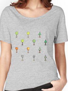 Seasonal Trees 2 Set Women's Relaxed Fit T-Shirt