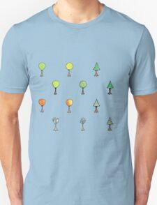 Seasonal Trees 2 Set T-Shirt