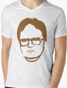 Dwight Kurt Schrute Mens V-Neck T-Shirt