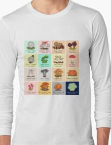 The #FungiFriday Poster! Long Sleeve T-Shirt