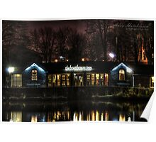 The Boathouse, Saltaire Poster