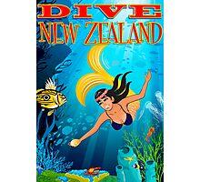 Dive New Zealand Photographic Print