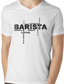 Barista II Mens V-Neck T-Shirt