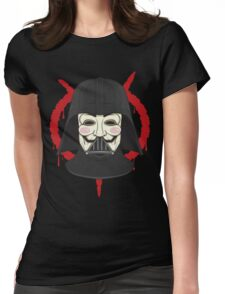 V for Vader Womens Fitted T-Shirt