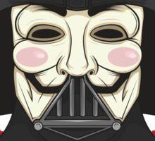 V for Vader Sticker