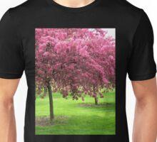 Flowering Crab Trees Unisex T-Shirt