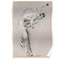 Ben Hilfenhaus - Australia Cricket Poster