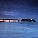 Cromer Pier Lights by Ursula Rodgers