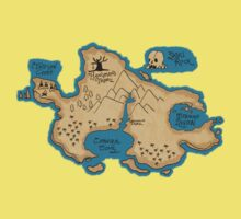 Map of Neverland Kids Clothes