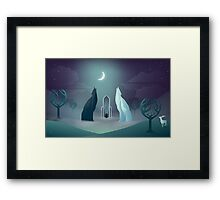 Solas in the Crossroads Framed Print