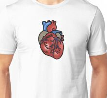 Anatomically Correct Heart Unisex T-Shirt