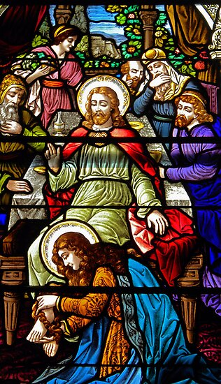 Jesus.  St John the Evangelist Church. by Lee d'Entremont