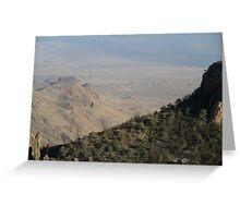 Big Bend National Park Greeting Card