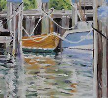Corner of the Marina by Juliane Porter