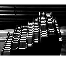 Books and Shadows Photographic Print