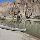 Canoe at Boquillas by Marten Lagendijk