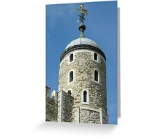 Tower Of London - The Round Tower Greeting Card