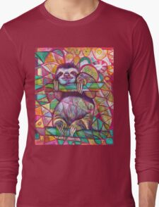 Sloth Love Long Sleeve T-Shirt