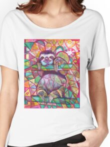 Sloth Love Women's Relaxed Fit T-Shirt