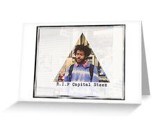Steez Greeting Card