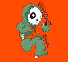 Highgreen Dawn Zombie t-shirt by paismaycare
