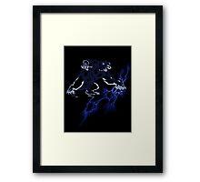 Lightning Bear V2 Framed Print