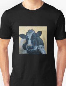 Lean on Me --- Cow Portraits T-Shirt