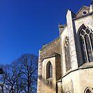 Winter church by katkeldeen