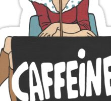 Wildago's Caffeine Queen III Sticker