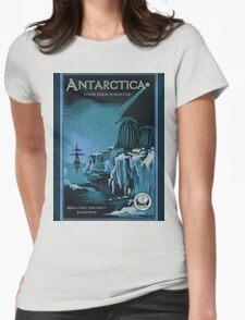 Antarctic Expedition Womens Fitted T-Shirt