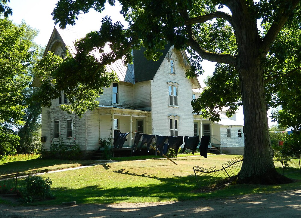 Amish Home by HarderHarmonies