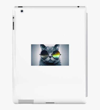 funky cat  iPad Case/Skin