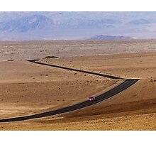 Badwater Road Photographic Print